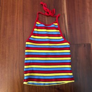 Striped Laura Brandy Melville halter